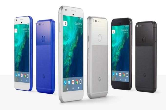 Pixel i Pixel XL - telefon Google - kolory