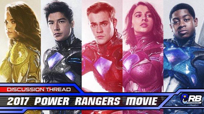 Bohaterowie filmu Power Rangers