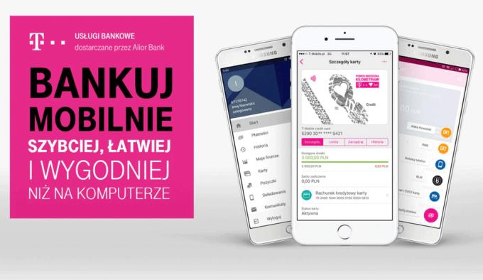 Nowa aplikacja bankowości mobilnej T-Mobile Usługi Bankowe