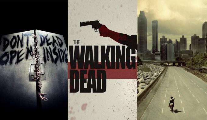 "Tapety na smartfona z motywami serialu ""The Walking Dead"""