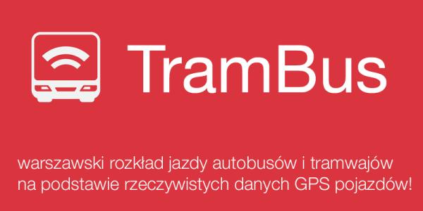 TramBus powie za ile będzie autobus na podstawie GPS-a
