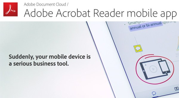 Nowy Adobe Acrobat Reader na iOS-a i Androida