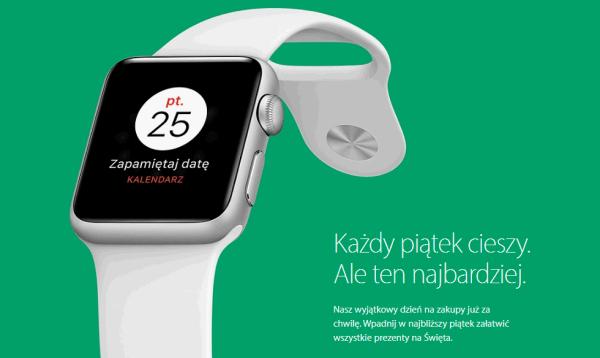 Apple też zorganizuje wyprzedaż 25 listopada w Black Friday