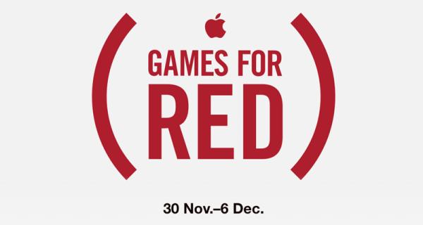 Kampania (RED) w sklepie App Store z okazji Światowego Dnia Walki z AIDS