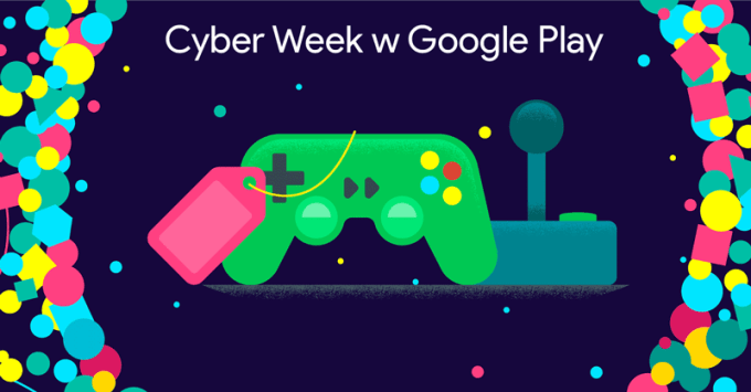 Cyber Week w Google Play