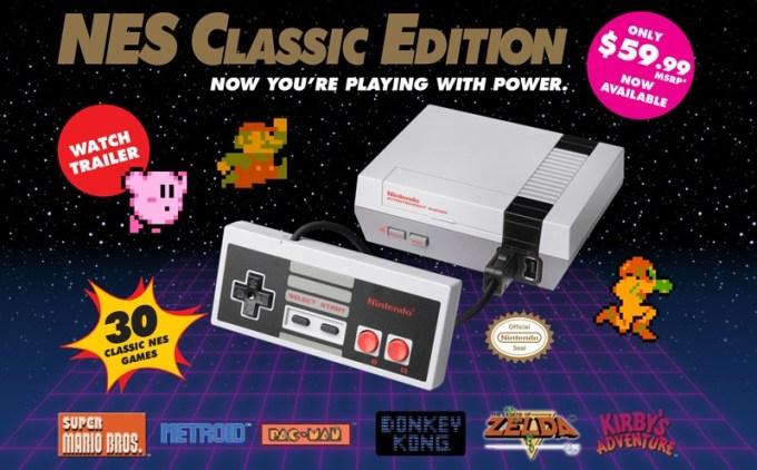 Nintendo NES Classic Edition - premiera 11 listopada 2016