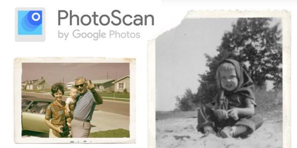 Nowa aplikacja Google'a PhotoScan do skanowania zdjęć