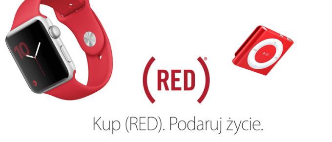 (RED) Apple - Kup RED. Podaruj życie.