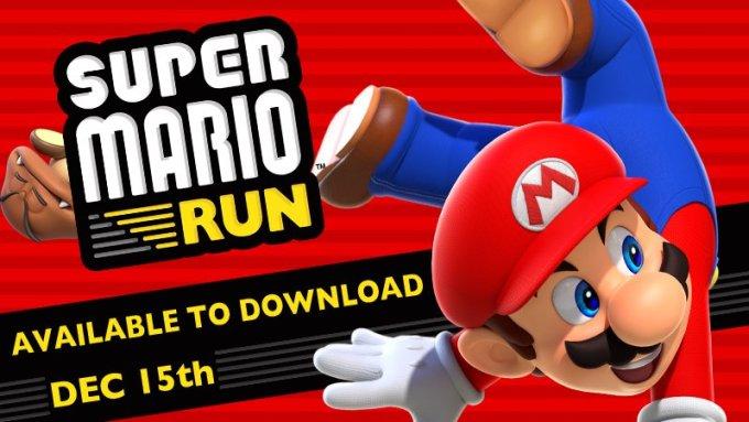 Super Mario Run w App Storze już 15 grudnia 2016 r.