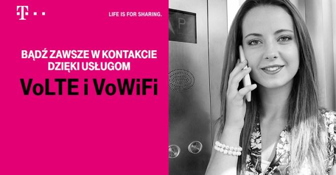 VoLTE i VoWiFi w T-Mobile Polska
