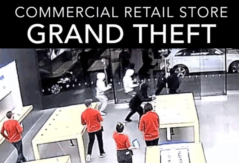 15-sekundowe napady na Apple Store w San Francisco [wideo]