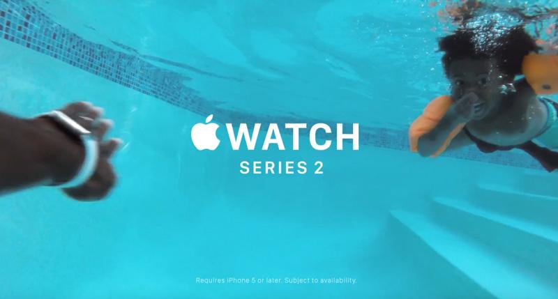 "Reklama Apple Watch Series 2 - pt. ""Go Swim"""
