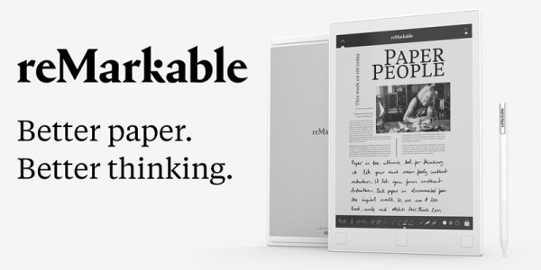 reMarkable to czytnik, czy tablet z ekranem e-ink?