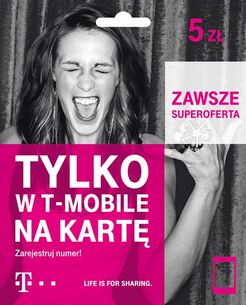Starter 5 zł - T-Mobile na kartę