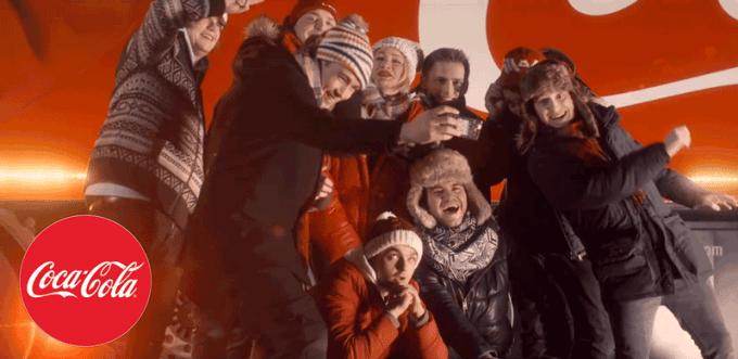 Świąteczna reklama firmy Coca-Cola z polskimi youtuberami (2016)