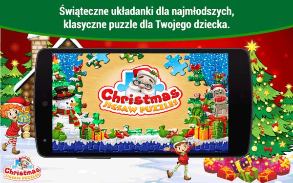 Christmas Jigsaw Puzzles – mobilne puzzle dla dzieci