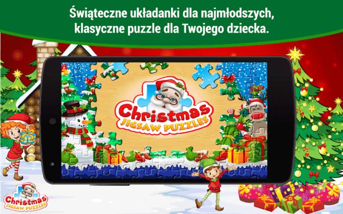 Christmas Jigsaw Puzzles - świąteczne puzzle dla dzieci