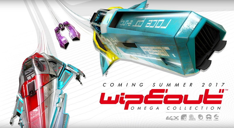 WipEout Omega Collection na PS4 w 2017 roku