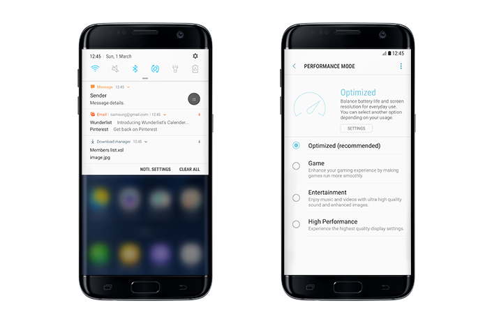Android 7.0 Nougat Samsung (2017)
