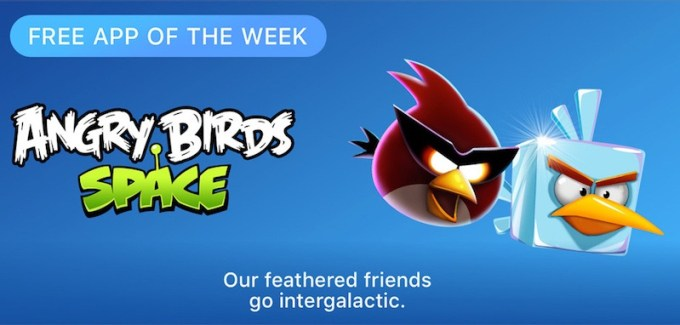 Angry Birds Space - Free App of The Week