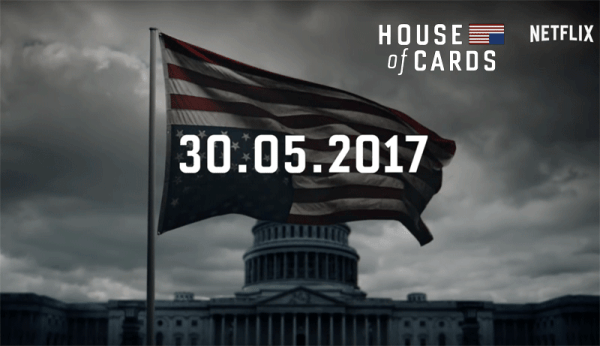 """House of Cards"" wraca z 5. sezonem 30 maja 2017 r."