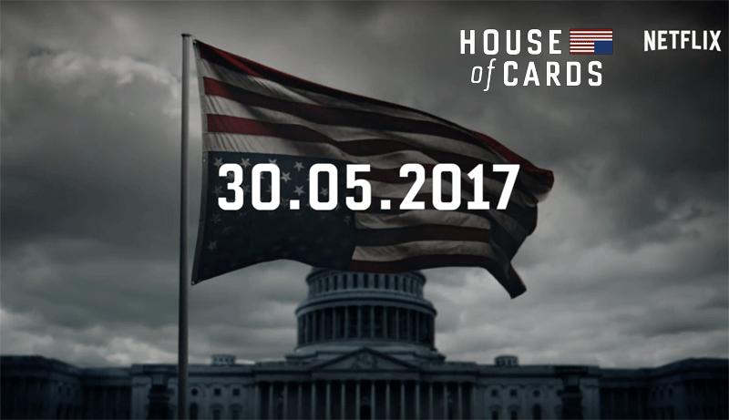 """Zapowiedź 5. sezonu serialu """"House of Cards"""" - Netflix"""