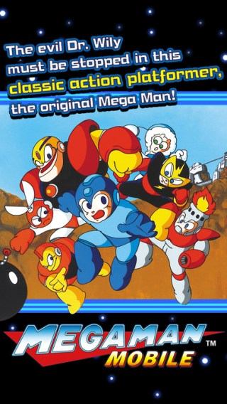Mega Man Mobile - screen
