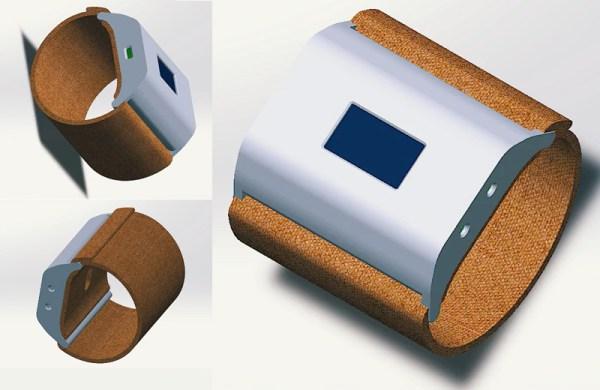 myHydro – tekstylna opaska informująca o nawodnieniu organizmu