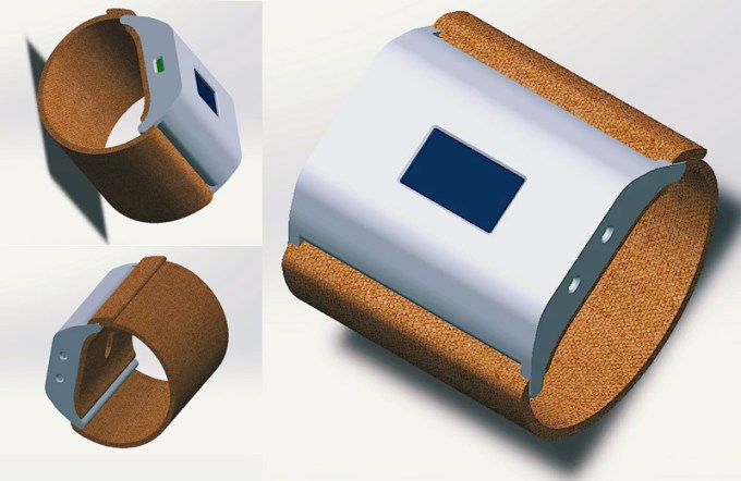 myHydro - opaska tekstylna do pomiaru nawodnienia organizmu (prototyp)