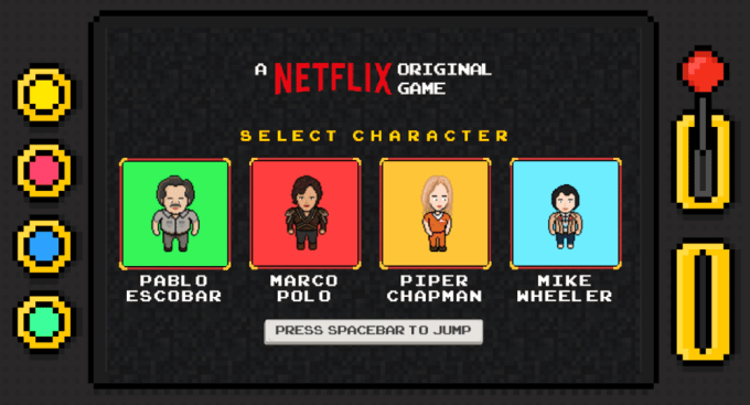 Netflix Infinite Runner - gra