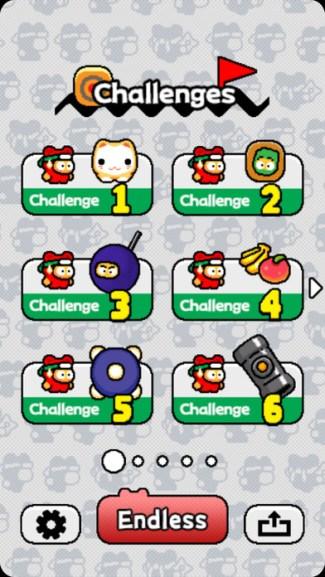Ninja Spinki Challenges!! - screen iOS
