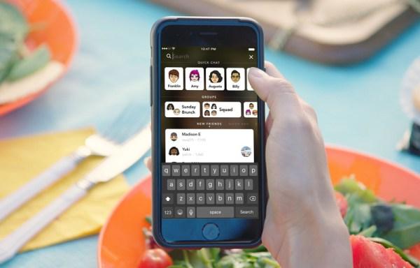Snapchat 10 z nowym wyglądem i funkcjami na iOS-a