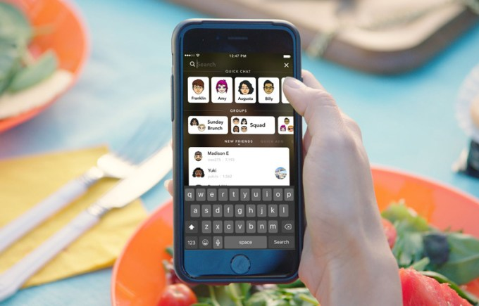 Snapchat 10.0.0.0 - iOS