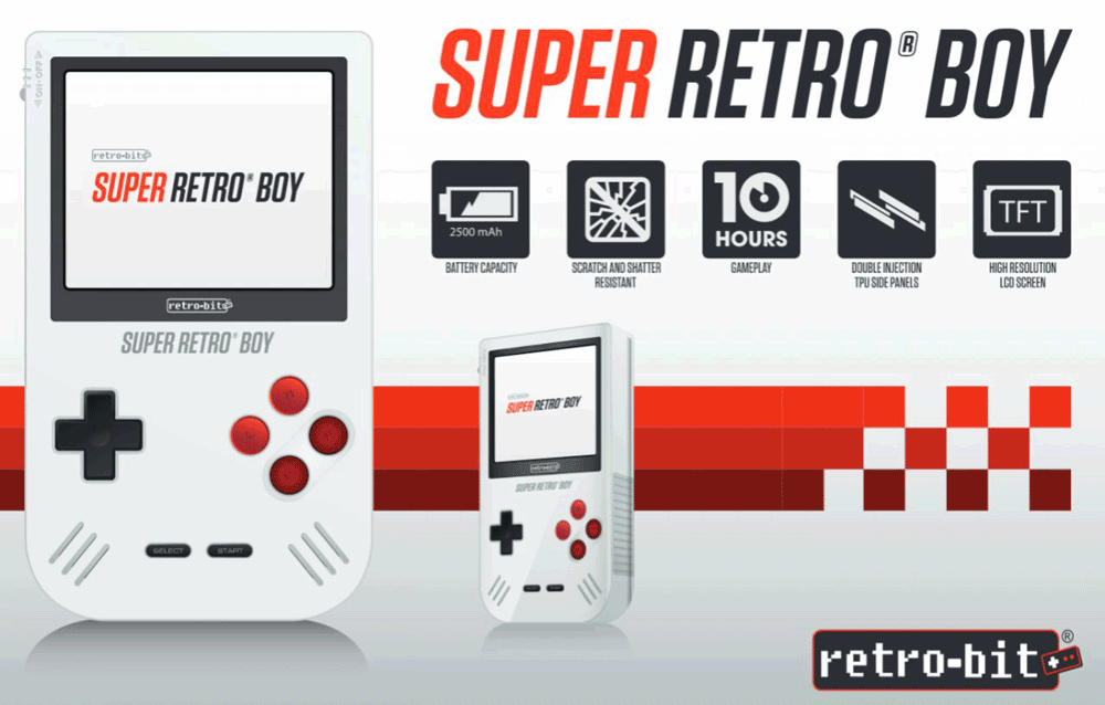 Super Retro Boy - konsola mobilna od Retro-Bit