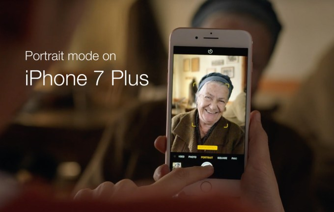 Take Mine - reklama iPhone'a 7 plus (tryb portretu)