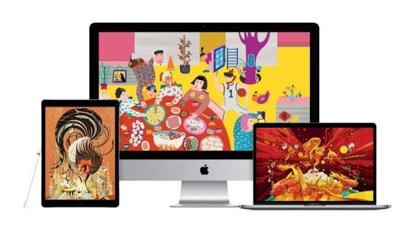 Tapety Apple'a z okazji chińskiego Nowego Roku
