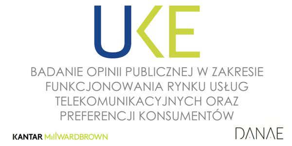 Wyniki badania użytkowników usług telekomunikacyjnych w Polsce 2016