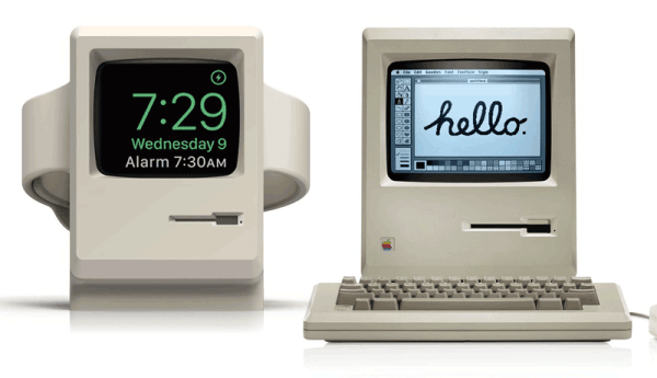Osobliwa podstawka W3 Stand dla Apple Watch