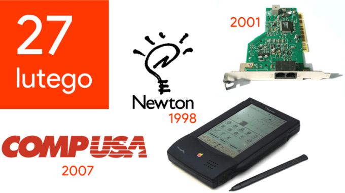 27 lutego - Dzień w historii technologii