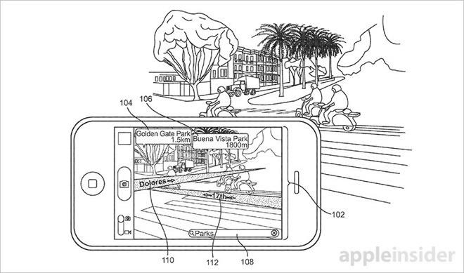 AR w aplikacji Mapy Apple w iPhone'ie 8(koncept)
