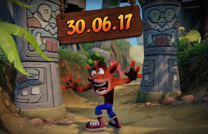 Data premiery gry Crash Bandicoot N. Sane Trilogy: 30.06.2017