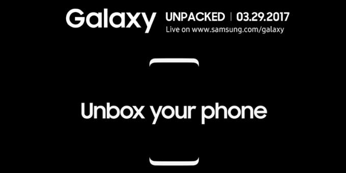 Galaxy S8 Unpacked 2017 Samsung (29.03.2017)