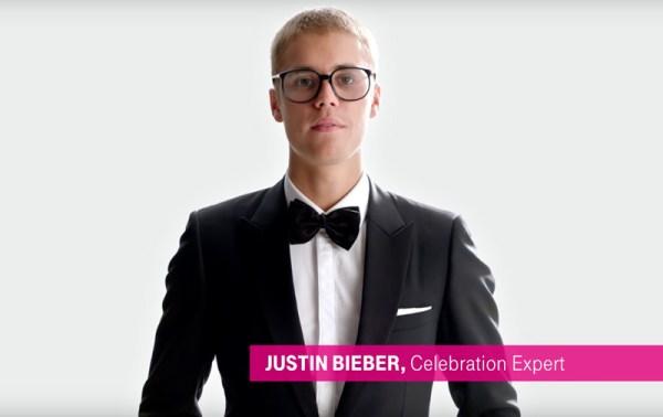 Justin Bieber wystąpił w reklamie T-Mobile