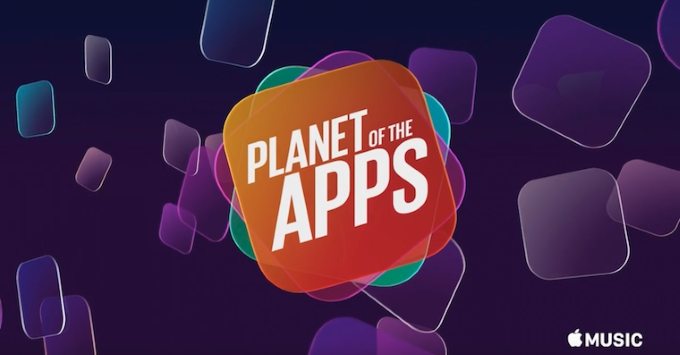 Planet of the Apps - Apple Music (logo)