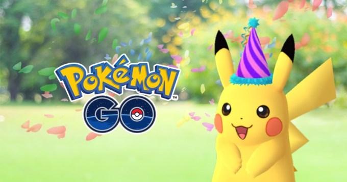 Pokemon Day (27.02.2017) - Pikachu w świątecznej czapce