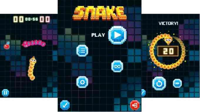 Odświeżona gra Snake na telefonie Nokia 3310 z 2017 roku