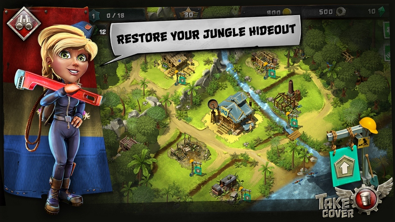 Take Cover - screen dżungla