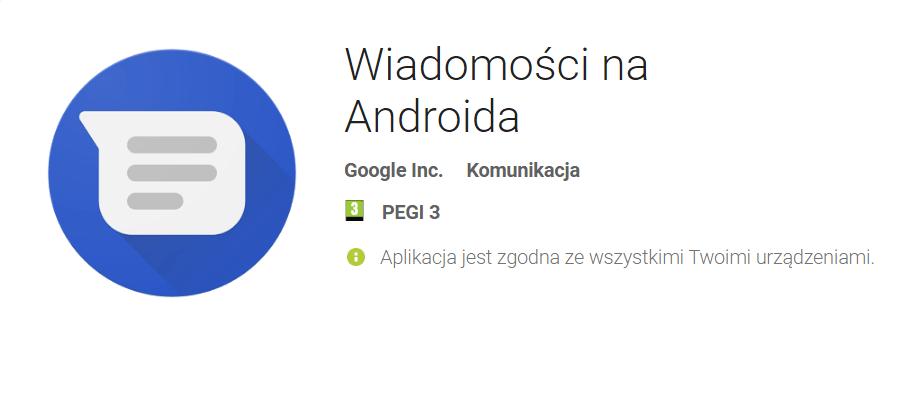 Wiadomości na Androida (RCS)