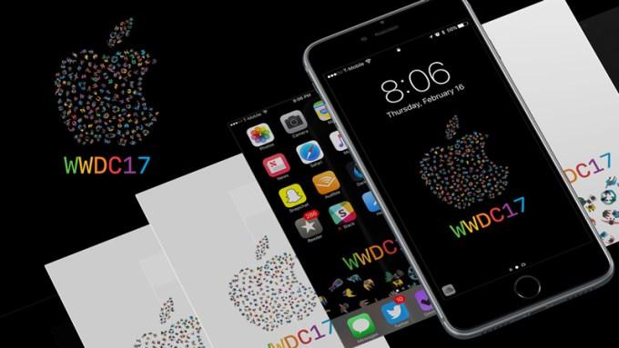 Tapety na iPhone'a z motywem WWDC17