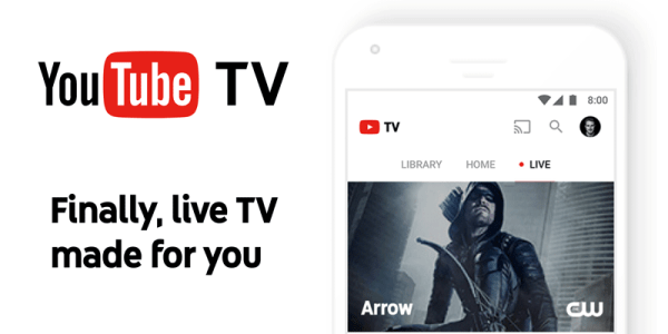 YouTube TV – nowa usługa telewizji na żywo od Google'a